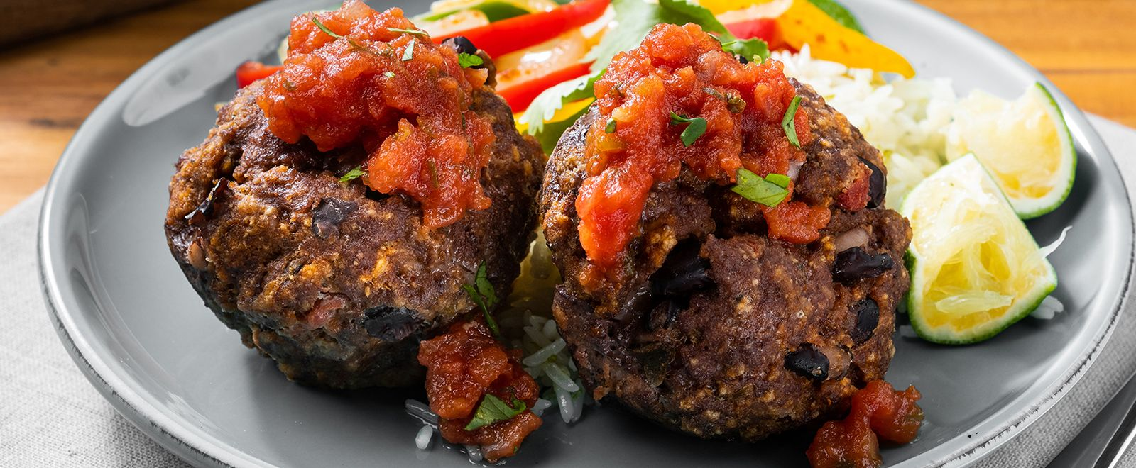Big Batch Mini Mexican Meat Loaves