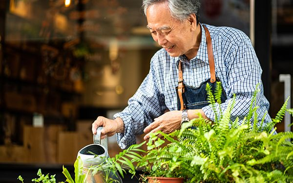 Gardening Safely with Osteoporosis