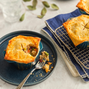 Turkey Cranberry Pot Pie