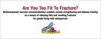 Are You Too Fit To Fracture