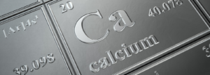 Calcium displayed on the periodic table