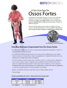 Portuguese Your guide to strong bones
